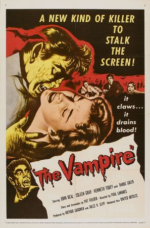 The Vampire - Movie Poster (thumbnail)