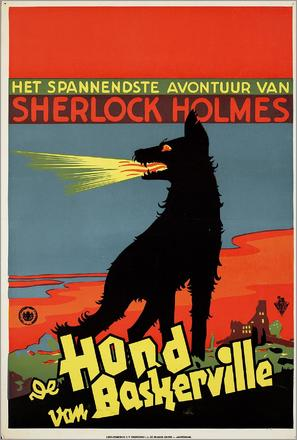 Der Hund von Baskerville - Dutch Movie Poster (thumbnail)