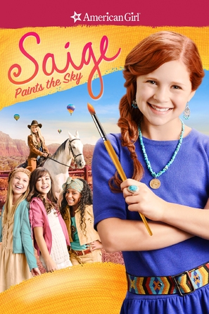 Saige Paints the Sky - DVD movie cover (thumbnail)