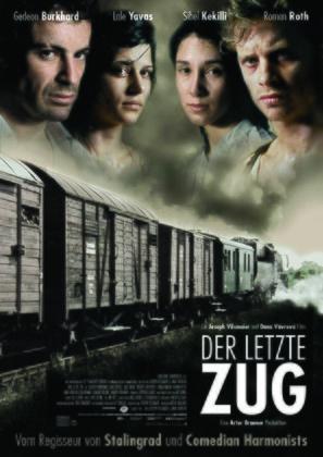 Der letzte Zug - German Movie Poster (thumbnail)
