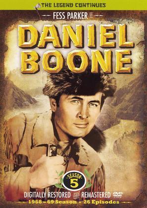 """""""Daniel Boone"""" - DVD movie cover (thumbnail)"""