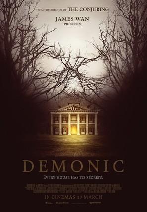 Demonic - Malaysian Movie Poster (thumbnail)