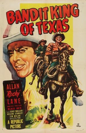 Bandit King of Texas - Movie Poster (thumbnail)