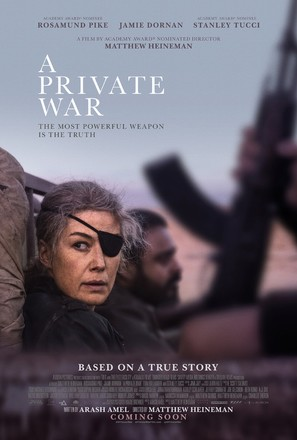 A Private War - Movie Poster (thumbnail)