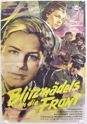 Blitzmädels an die Front - German Movie Poster (thumbnail)