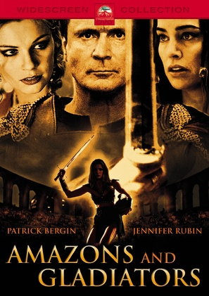Amazons and Gladiators - German DVD movie cover (thumbnail)