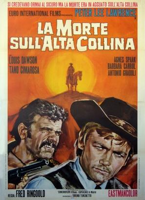 La morte sull'alta collina - Italian Movie Poster (thumbnail)