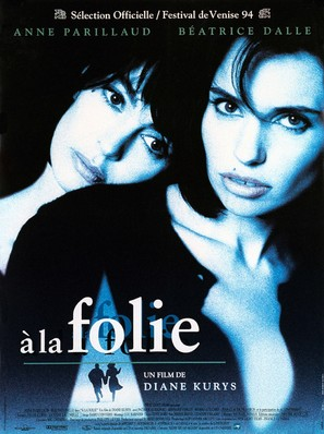 À la folie - French Movie Poster (thumbnail)