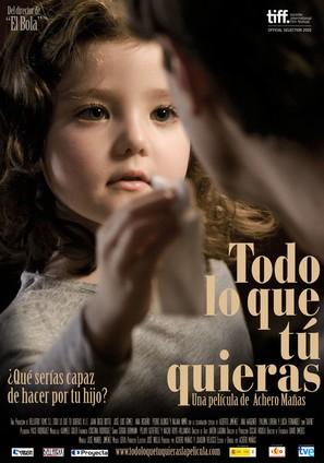 Todo lo que tú quieras - Spanish Movie Poster (thumbnail)