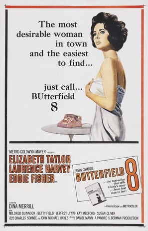 Butterfield 8 - Movie Poster (thumbnail)