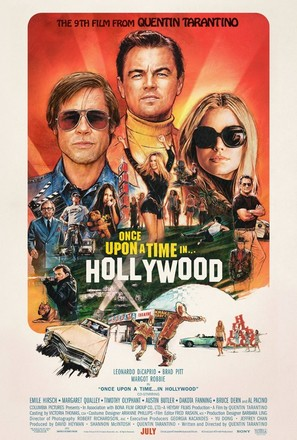 Once Upon a Time in Hollywood - Movie Poster (thumbnail)