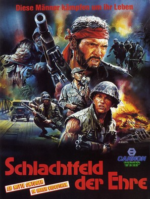 Field of Honor - German Movie Poster (thumbnail)