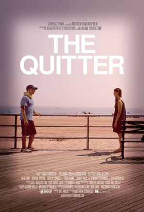 The Quitter - Movie Poster (thumbnail)