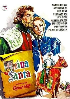 Reina santa - Spanish Movie Poster (thumbnail)