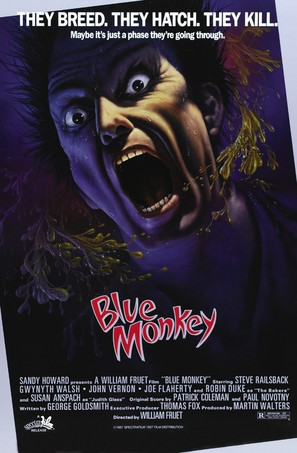 Blue Monkey - Movie Poster (thumbnail)