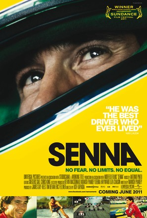 Senna - British Movie Poster (thumbnail)