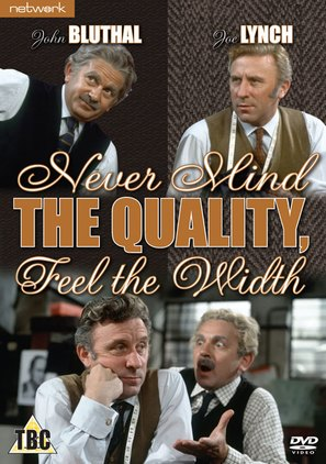 """""""Never Mind the Quality, Feel the Width"""" - British Movie Cover (thumbnail)"""