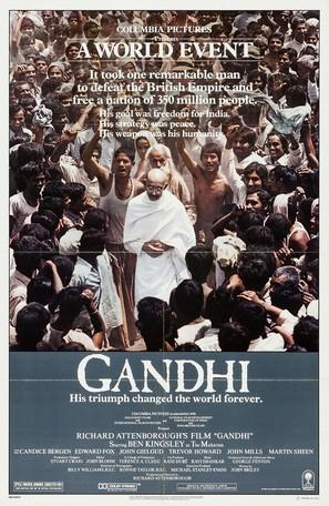 Gandhi - Movie Poster (thumbnail)