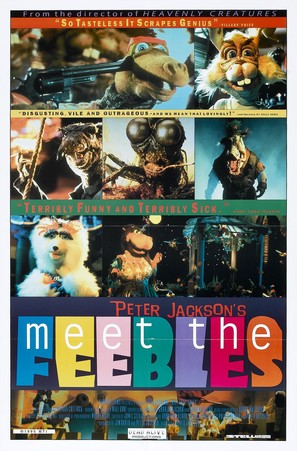 Meet the Feebles - Movie Poster (thumbnail)