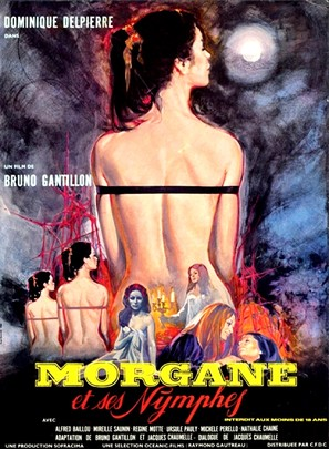 Morgane et ses nymphes - French Movie Poster (thumbnail)