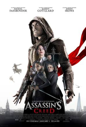 Assassin's Creed - British Movie Poster (thumbnail)