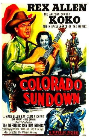 Colorado Sundown - Movie Poster (thumbnail)