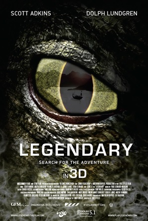 Legendary: Tomb of the Dragon - Movie Poster (thumbnail)
