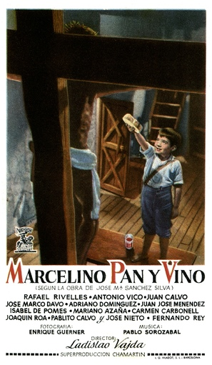 Marcelino pan y vino - Spanish Movie Poster (thumbnail)