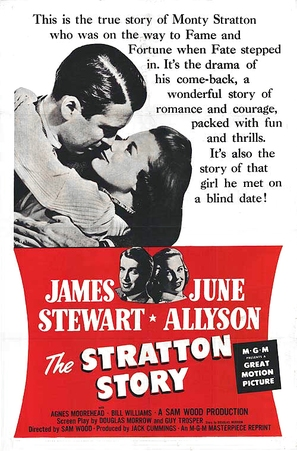 The Stratton Story - Movie Poster (thumbnail)