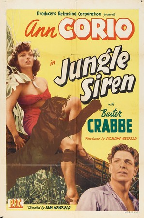 Jungle Siren - Movie Poster (thumbnail)