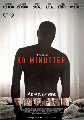 90 minutter - Norwegian Movie Poster (thumbnail)
