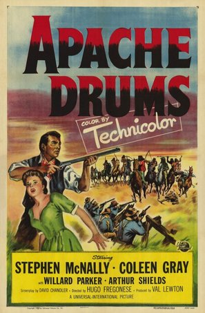 Apache Drums - Movie Poster (thumbnail)