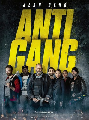 Antigang - French Movie Poster (thumbnail)