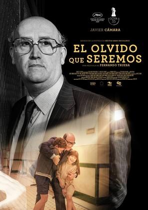 El olvido que seremos - Colombian Movie Poster (thumbnail)