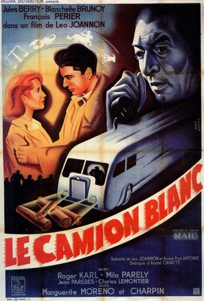 Le camion blanc - French Movie Poster (thumbnail)