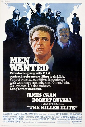 The Killer Elite - Movie Poster (thumbnail)