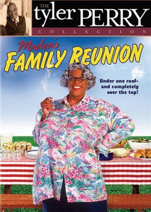 Madea's Family Reunion - DVD cover (thumbnail)