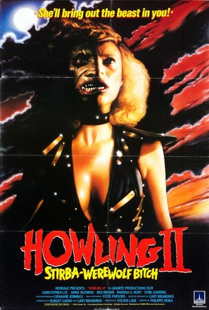 Howling II: Stirba - Werewolf Bitch - British Movie Poster (thumbnail)