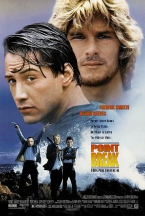 Point Break - Movie Poster (thumbnail)