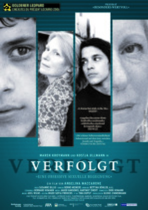Verfolgt - German Movie Poster (thumbnail)