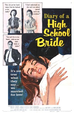 Diary of a High School Bride - Movie Poster (thumbnail)