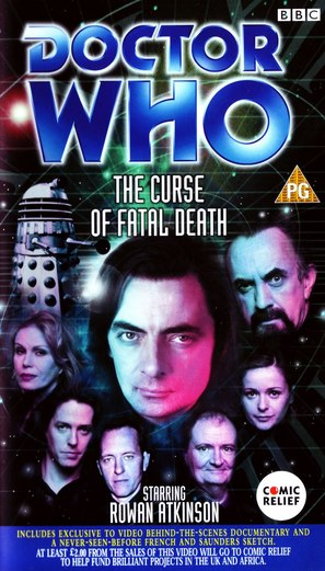 Comic Relief: Doctor Who - The Curse of Fatal Death - British Movie Cover (thumbnail)