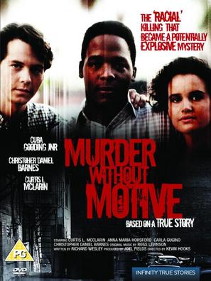 Murder Without Motive: The Edmund Perry Story - British Movie Cover (thumbnail)