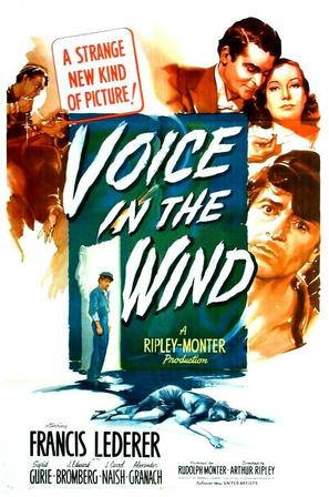 A Voice in the Wind - Movie Poster (thumbnail)