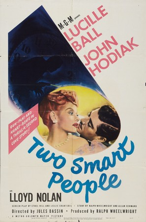 Two Smart People - Movie Poster (thumbnail)