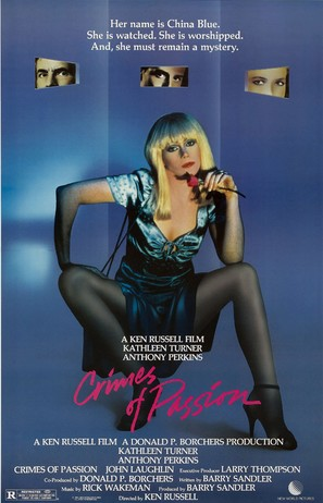 Crimes of Passion - Movie Poster (thumbnail)