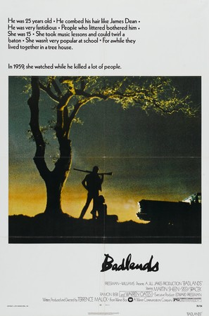 Badlands - Movie Poster (thumbnail)