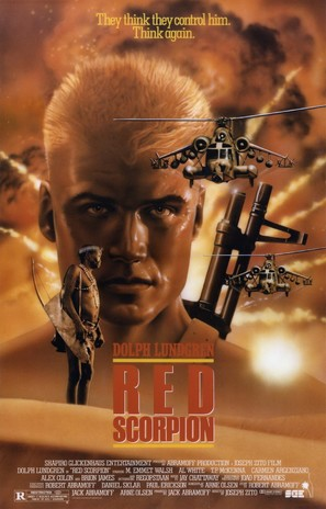 Red Scorpion - Movie Poster (thumbnail)