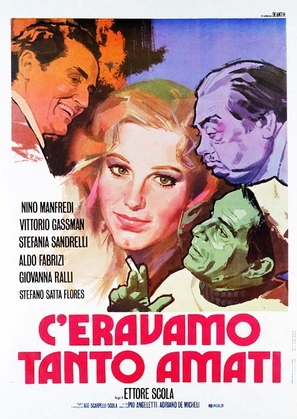 C'eravamo tanto amati - Italian Movie Poster (thumbnail)
