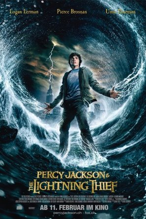 Percy Jackson & the Olympians: The Lightning Thief - Swiss Movie Poster (thumbnail)